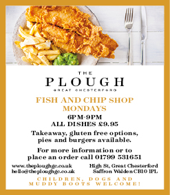 The Plough at Great Chesterford, Fish & Chips