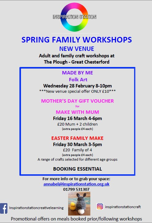 Spring Family Workshops